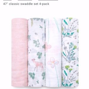 """Aden + Anais 47"""" Swaddle Set - 4 pack"""